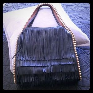 Big Buddha Boho Handbad with Fringe